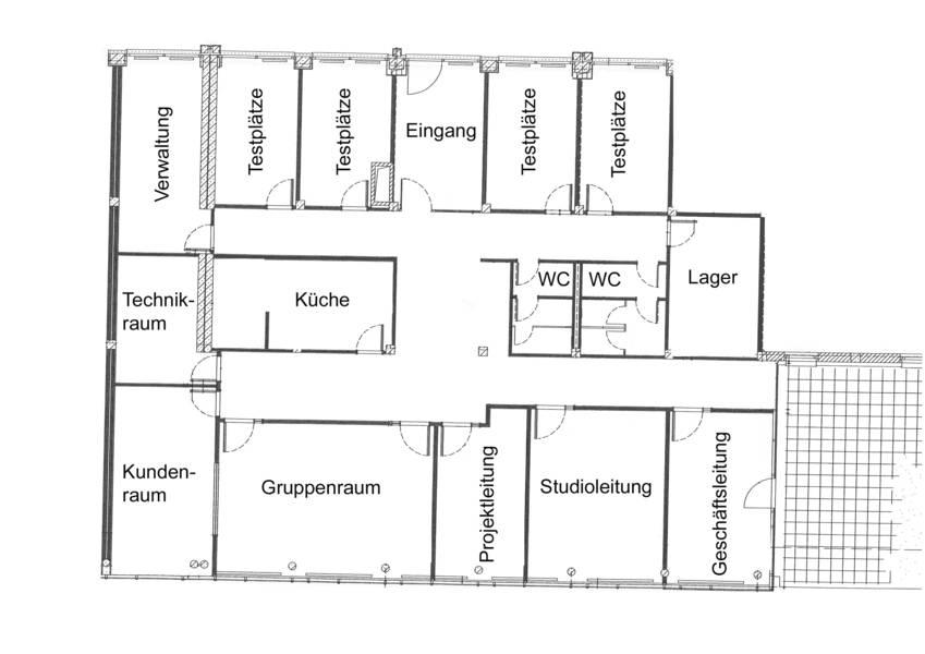 Grundriss Rostock